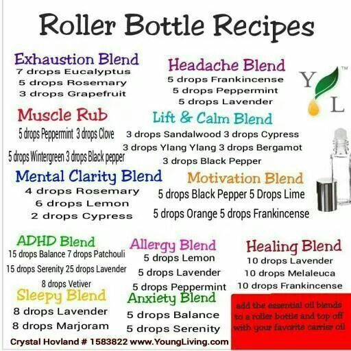 Roller Ball Remedies Essential Oils Young Living