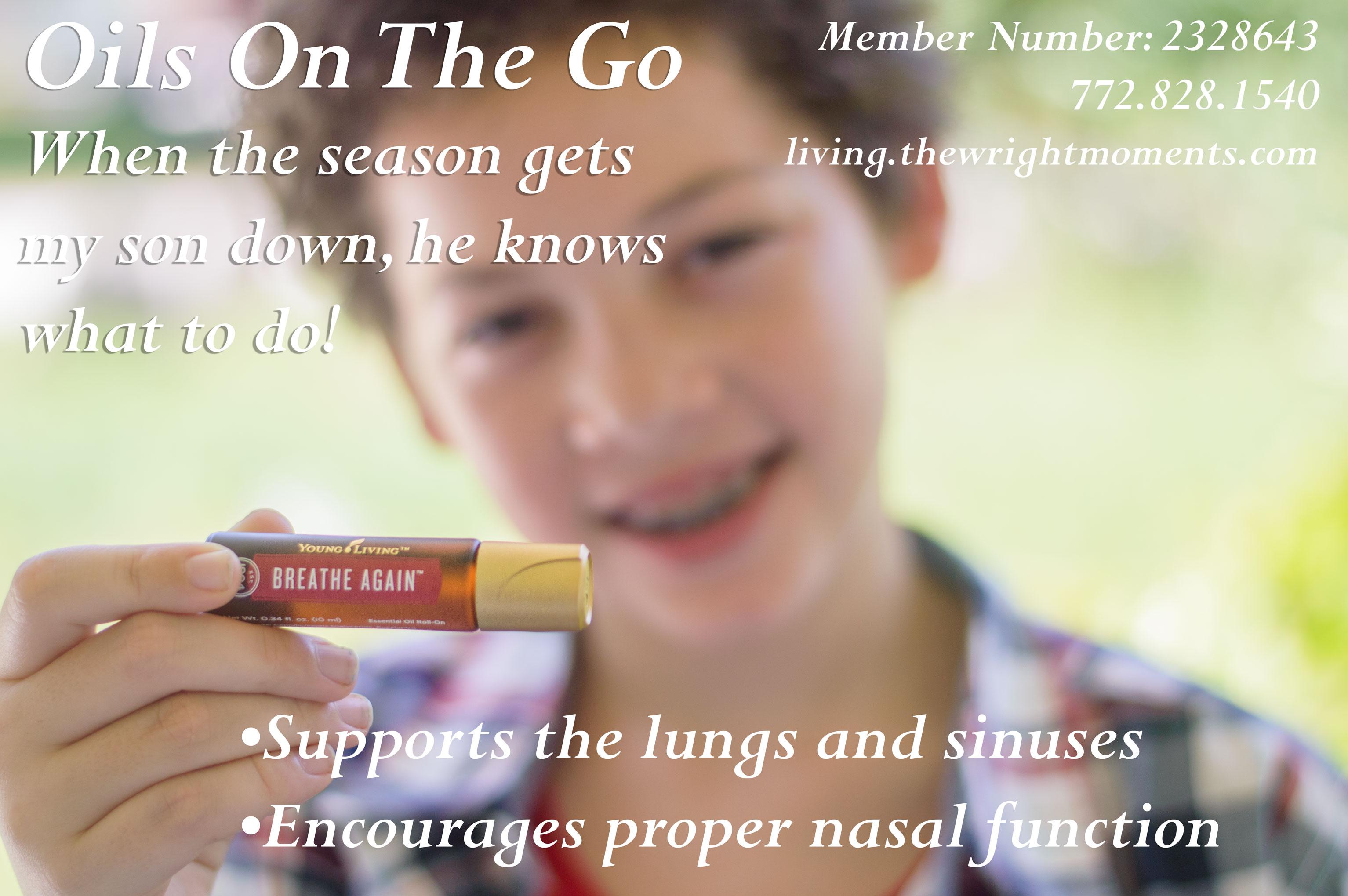 breathe again essential oil