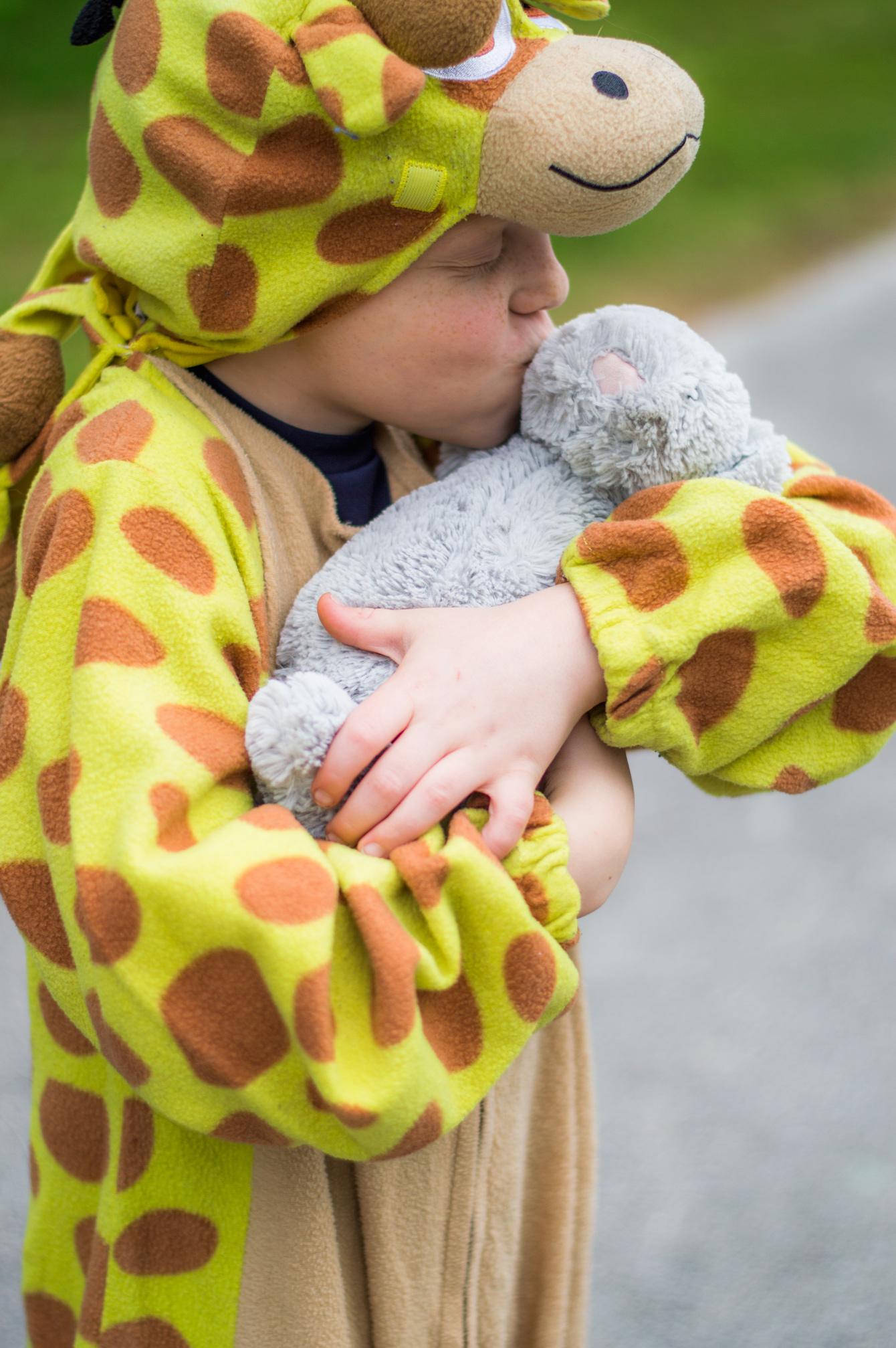 stuffed animal grows empathy