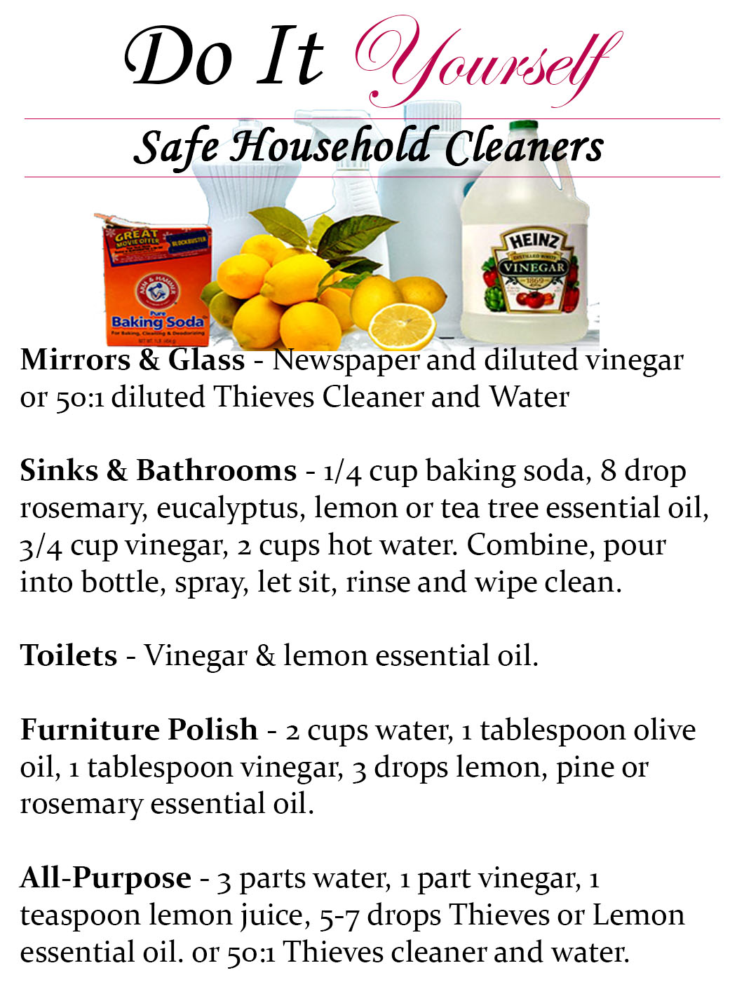 safe household cleaner