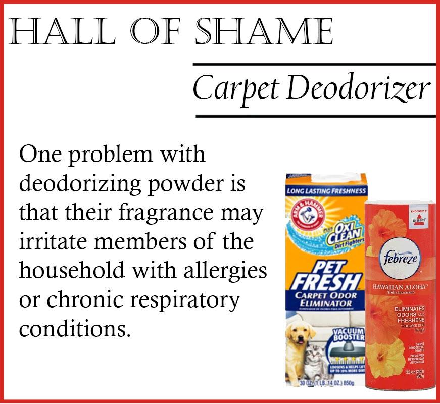 chemcial free carpet deodorizer