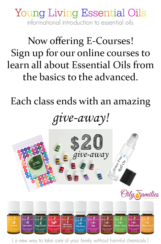 essential oil e-courses