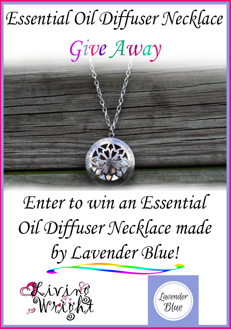 essential oil necklace diffuser giveaway