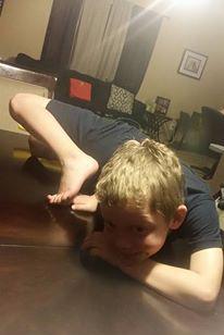 gymnastics flex