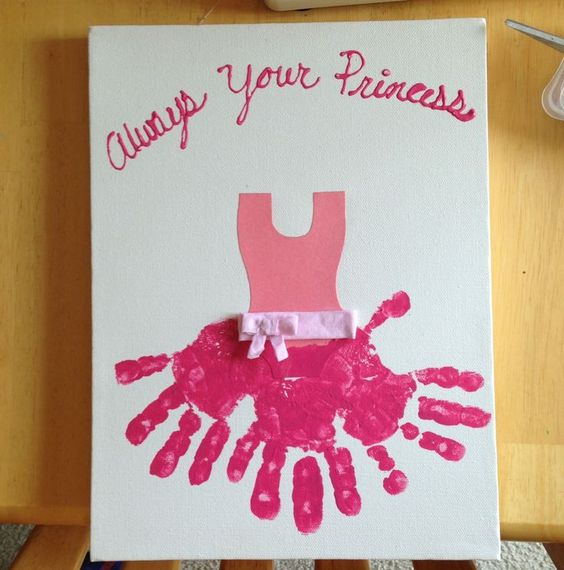 always your princess fathers day craft